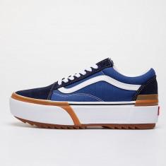 Vans Old Skool Stacked Navy/ True White