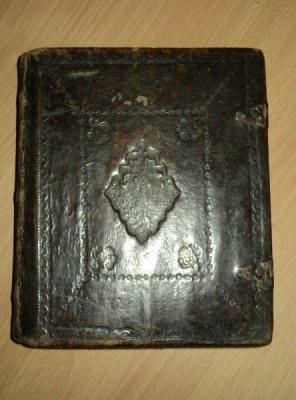 PSALTIREA PROOROCULUI SI IMPARATULUI DAVID - BUCURESTI, 1827 foto