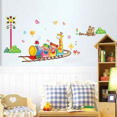 Stickere camere copii Trenuletul vesel