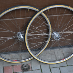 Roti bicicleta curse/cursiera Shimano -dura ace-vintage-eroica -campagnolo
