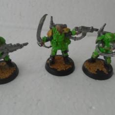 bnk jc Warhammer - lot 3 figurine de metal - 40 mm