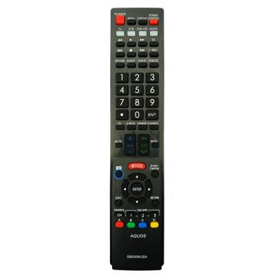 Telecomanda LCD LED SHARP AQUOS cu Netflix GB005WJSA GA890WJSA GA936WJSA etc. foto