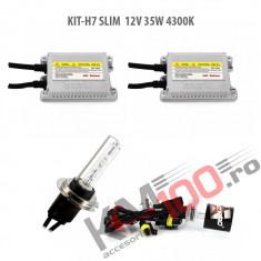 Set xenon H7 SLIM 12V 35W 4300K