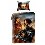 Lenjerie de pat copii Cotton Warcraft WCM-0023BL