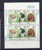 NOUA ZEELANDA 1982 – CAINI DE RASA, bloc nestampilat, SD44