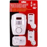 Alarma cu senzor de miscare Shopiens, cu 2 telecomenzi