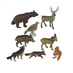 Set 8 Figurine Animale din Padure