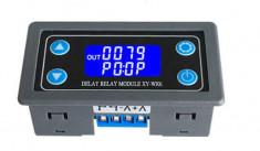 Releu temporizare temporizator timer 6-30 VDC foto