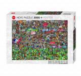 Cumpara ieftin Puzzle Heye Football History, 3000 piese