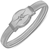 Brățară din oțel - model ceas, șarpe, elastică