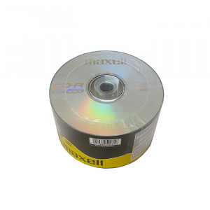 CD-R Maxell, 700 MB, 52x, 50 bucati/bulk in folie