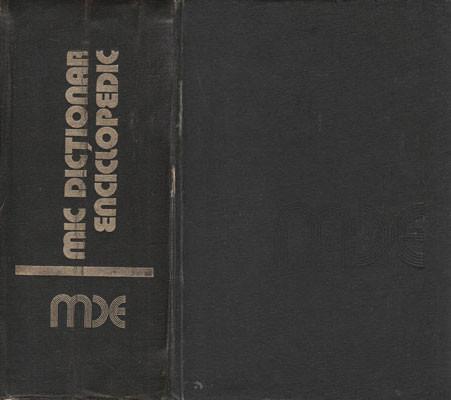 Mic dictionar enciclopedic (Aurora Chioreanu, Mircea Maciu, Nicolae Nicolescu)