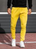 Pantaloni trening bărbați galben Bolf XW01-A