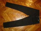 Blugi Zara Man-Marimea W32xL32 (talie-86cm,lungime-107cm), 32, Negru, Lungi