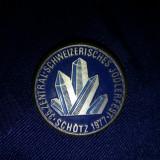 Insigna a 35 editie zentralschweizer jodlerfest Schötz 1977
