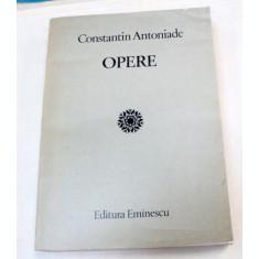 OPERE-CONSTANTIN ANTONIADE 1985