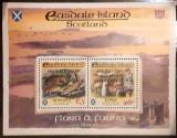 Cumpara ieftin Casdale island  ciuperci, flora fauna reptile, colita 2v  neuzata, Nestampilat