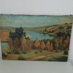 Pictura in ulei pe pânză, 4 tablouri semnate Olah Ferencz, stare foarte bună