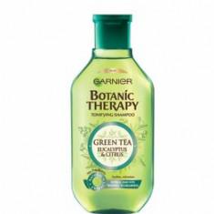 Cumpara ieftin Sampon pentru par normal cu tendinta de ingrasare Garnier Botanic Therapy Ceai verde, eucalipt si portocala, 250 ml