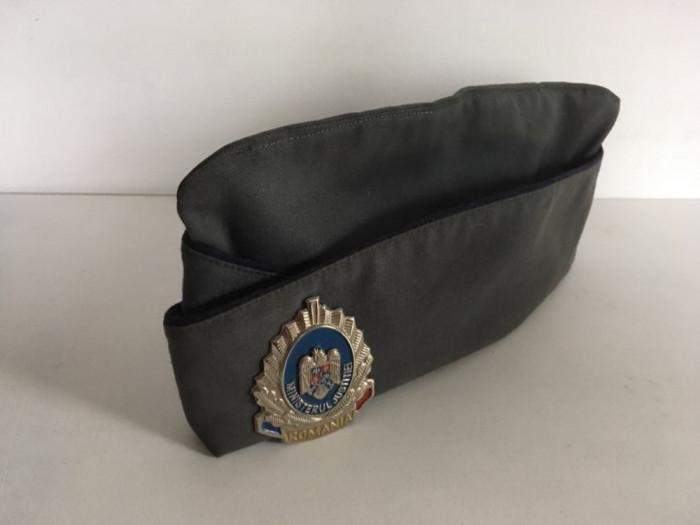 Sapca basca chipiu cascheta militara vintage cu emblema Ministerul Justitiei