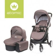 Carucior 4Baby ATOMIC 2 in 1 Brown