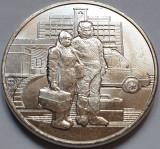 Monedă 25 ruble 2020 Rusia, Selfless Labour of health workers, unc, Covid 19, Europa