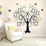 Sticker perete family memories tree photo copacul cu poze