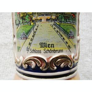 Wien Schloss Schönbrunn/Froh beim Bier, das lieben   14,5cm/427gr