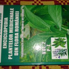 enciclopedia plantelor medicinale din flora romaniei  vol.2/672pagini- C.Parvu