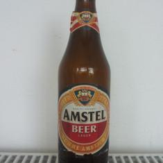 Sticla  Bere  Amstel  Ungaria  cu  eticheta, anul 1997
