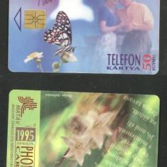 Hungary 1995 Telephone card Butterflies CT.009