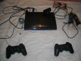 Consola Sony PS3 - CECH 4204C 500GB cu 2 manete originale