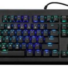 Tastatura Gaming Marvo KG959G, Mecanica, Iluminata RGB, USB (Negru)