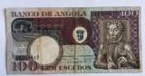 Angola 100 escudos 1973 Luiz de Camoes