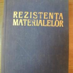 REZISTENTA MATERIALELOR de D.A. STAN , 1967