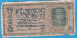 (2) BANCNOTA UCRAINA - 50 KARBOWANEZ 1942 (10 MARTIE), NAZISTA