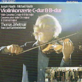 J. HAYDN / MICHAEL HAYDN : Violinkonzerte C-dur & B-dur  ( CD )