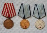Decoratii per. comunista RPR - Meritul militar , medalia elib. de sub jugul