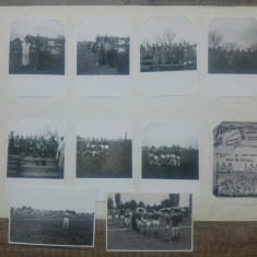 Lot fotografii fotbal, stadionul Constructorul// Bucuresti, anii '50