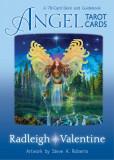 Angel Tarot Cards 78 Card Deck+Guidebook/CARTI TAROT INGERI ORIGINALE,ENGLEZA, Doreen Virtue