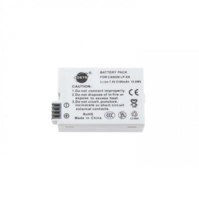 Acumulator DSTE 2100mAh compatibil Canon LP-E8 pentru 550D 600D 650D 700D foto