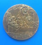 """MEDALIE JUBILEUL DE 50 DE ANI AL SOCIETATEI """"TINERIMEA ROMANA"""""""
