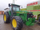 Tractor John Deere 8210 Premium, an 2001, AC, 4x4. IMPORT 2020., PilotOn