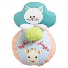 Jucarie interactiva minge cu sunete si vibratii Pisica Lazare Vulli