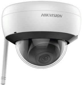 Kit supraveghere video wireless, HIKVISION, 4 camere DOME 2MP cu NVR 4 canale