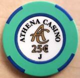 Jeton Athena Casino 25 Euro J
