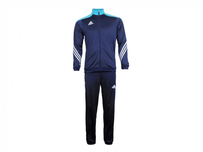 Trening barbati Adidas Sere14 Pes suit darkblue-supercyan-white F49713