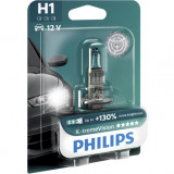 Bec auto cu halogen pentru far H1 X-tremeVision Plus, 12V, 55W, 1 Buc, Philips