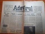 Ziarul adevarul 10 februarie 1990-articol despre sergiu celibidache