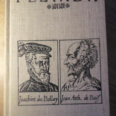 PLEIADA. ANTOLOGIE LIRICA II - ALCATUIREA, TRADUCERILE SI STUDIILE DE ALEXANDRU